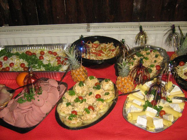 Mon buffet du nouvel an - Idee buffet nouvel an ...
