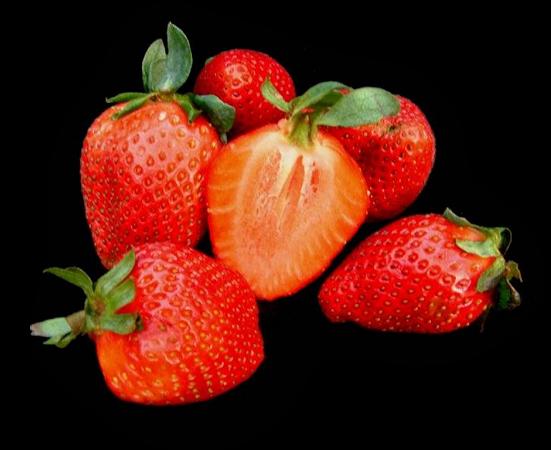 tube fraise framboise